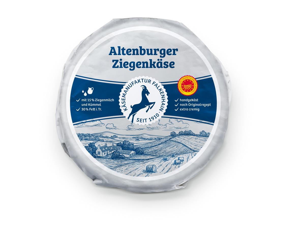 Altenburger Ziegenkäse 30%