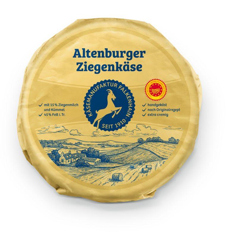 Altenburger Ziegenkäse 45%
