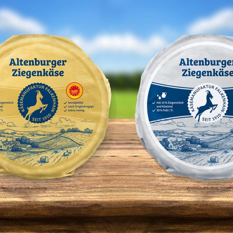 Altenburger Ziegenkäse erstrahlt in neuem Glanz
